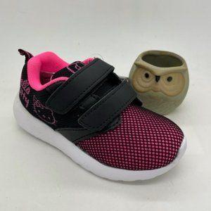 Girls Shoes Sanrio Hello Kitty BlackFuchsia Runner